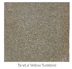 Tandur Yellow Tumbled Limestone Tile
