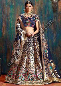 Banarasi Lehenga Dress Material