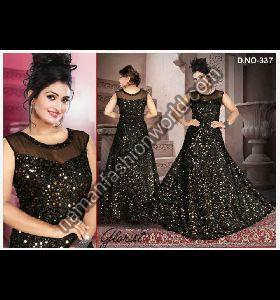 Designer Gown Dress Material