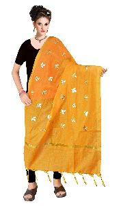 Cotton Gota Patti Dupatta