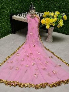 Net Cut Work Dupatta