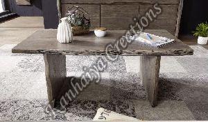 120cmx60cmx45cm Solid Acacia Wood Coffee Table