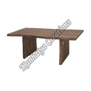 120cmx70cmx45cm Solid Acacia Wood Coffee Table