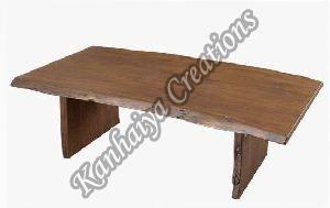 150cmx70cmx45cm Solid Acacia Wood Coffee Table