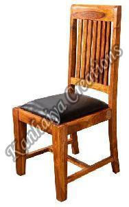 45cmx50cmx100cm Solid Acacia Wood and PVC Chair