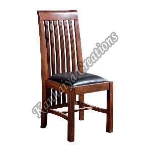 45cmx51cmx103cm Solid Acacia Wood and PVC Chair
