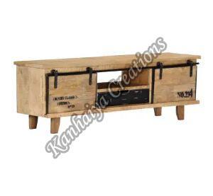 47.2x11.8x15.7 Inch Solid Mango Wood T.V Stand