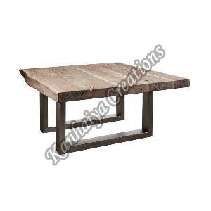 90cmx90cmx45cm Solid Acacia Wood Coffee Table