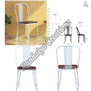 Mango Wood and Iron Chair