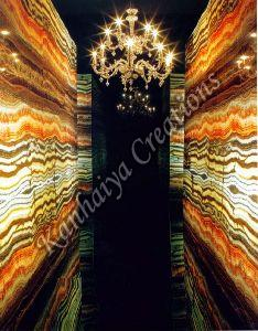 Multicolor Onyx Natural Marble
