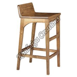 Oak Wood Bar Stool