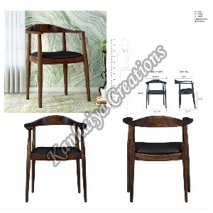 Sheesham Wood Honey Oak Polish Chair