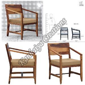 Sheesham Wood Warm Walnut Polish Chair