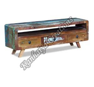 47x11.8x15.7 Inch Solid Reclaimed Wood T.V Stand