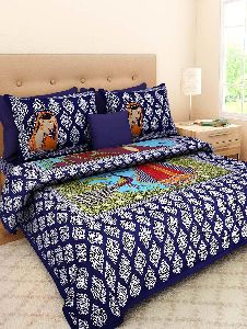 Block Print Bed Sheet Set