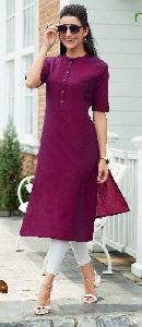 Formal Cotton Kurtis