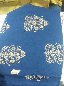 Hand Block Printed Cotton Suit Fabric