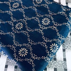 Hand Block Printed Kurti Fabric