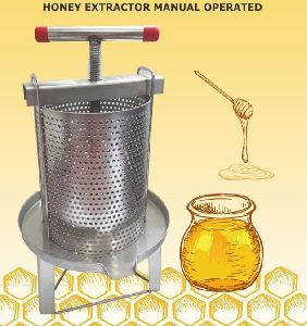 Manual Operated Honey Extractor