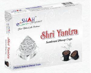 Shri Yantra Sambrani Dhoop Cup