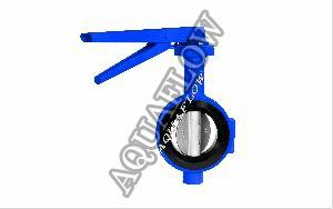 Cast Iron Wafer Type Butterfly Valve