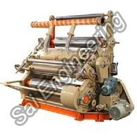 Fingerless Type Single Facer Paper Corrugation Machine