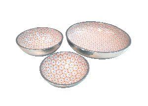 Aluminum Printed Bowl