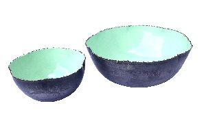 Iron Bowl & Dish