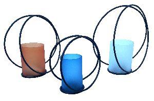Iron Candle Holder & T- Light
