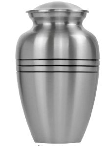 Grace and Mercy Pewter Large Urn for Human Ashes - A Beautiful and Humble Urn for Your Loved Ones Re