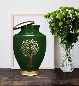 Pewter Large Urn for Human Ashes - A Beautiful and Humble Urn for Your Loved Ones Remains. This Love