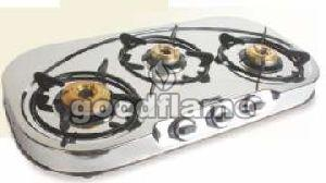 DD 3 Burner Gas Stove