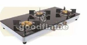 STAR R (SS) 3 Burner Gas Stove