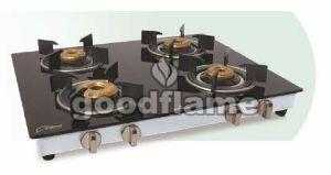 STAR R (SS) 4 Burner Gas Stove