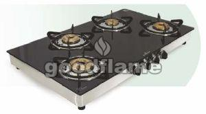 STAR (SS) 4 Burner Gas Stove