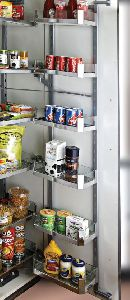 6 Layer Glass Pantry Unit