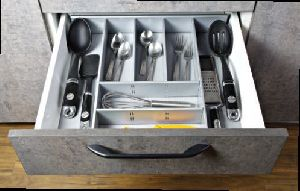 Metal Cutlery Box
