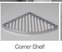 Stainless Steel Corner Shelf