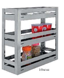 Stainless Steel Elegant Series 3 Shelves