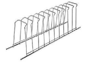 Stainless Steel Elegant Series Plate Rack