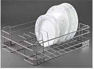 Stainless Steel Storage Solutions Series Plate Basket
