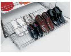 Stainless Steel Single Layer Shoe Rack