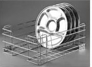 Stainless Steel Storage Solutions Series Thali Basket