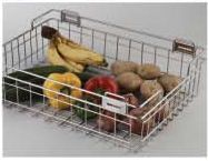 Stainless Steel Storage Solutions Series Vegetable Basket