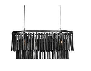 90x40x40 cm Metal Strips Hanging Pendant Chandelier