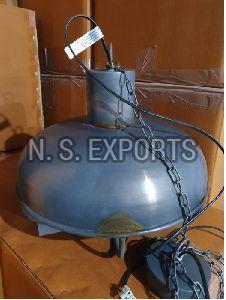 Antique Zinc Hanging Lamp