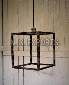 Cubical Clear Matt Hanging Lamp
