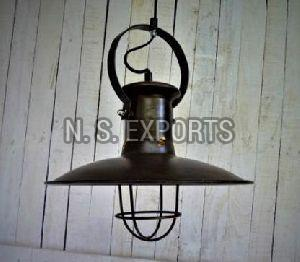Mining Pendant Lamp with Cage