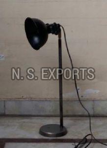 Petrol Metal Table Lamp