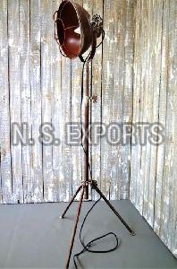 Round Cage Floor Lamp